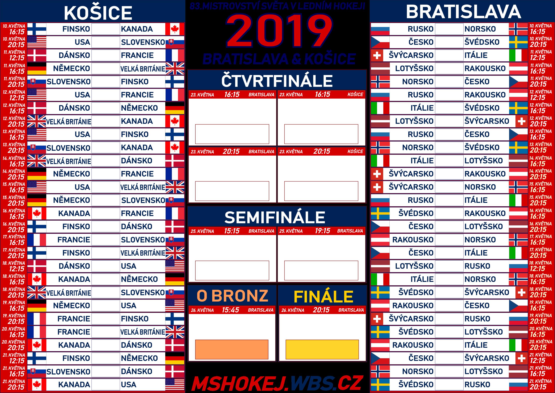 9ad60e0d1bb9d plakáty k MS 2019 | mshokej.wbs.cz | Mistrovství světa v ledním ...